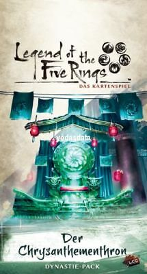 Legend of The Five Rings: Verschiedene Dynastie Packs - deutsch NEU OVP!