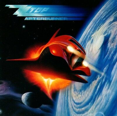 "Zz Top - Afterburner Cd (1985) Incl.""velcro Fly"" & ""sleeping Bag"" / Texas-Rock"