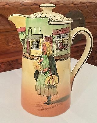 Royal Doulton ~ Dickens Ware ~ Little Nell ~ Coffee Pot