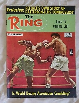 The Ring Boxing Magazine December January 1968-9 WBA crumbling