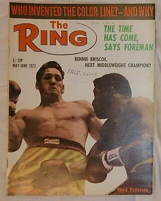 The Ring Boxing Magazine May June 1972