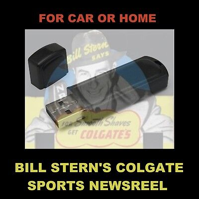 Bill Stern's Sports Newsreel. Enjoy 154 Old Time Radio Shows In Your Car Or Home