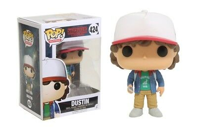 Funko Pop TV: Stranger Things - Dustin Vinyl Figure Item #13323