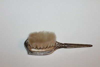 Vintage Sterling Silver Baby Brush WEB 5.5IN LONG