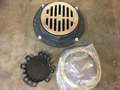 """Zurn Floor Drain Assembly, 9"""" NEW! FREE SHIPPING!"""