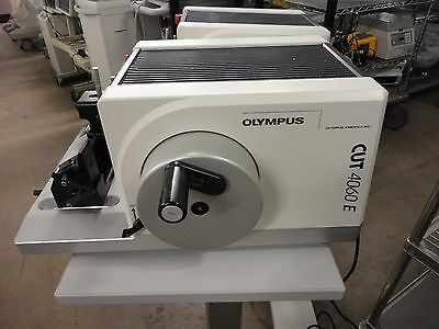 Olympus Model Cut 4060Re Motorized Microtome