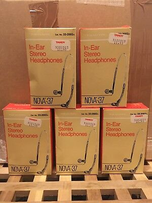 Tandy Headphones Dead Stock! 1986