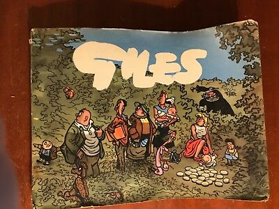 Giles Cartoon Annual1956 Tenth Series Daily Express Unclipped