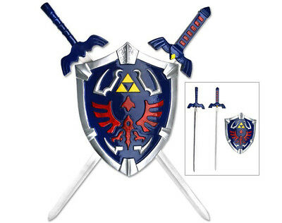 Legend Of Zelda Hylian Shield And Link Sword Collectible Wall Display