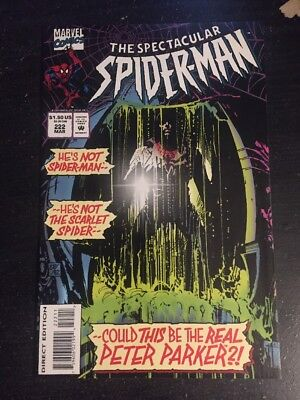 Spectacular Spider-Man#222 Incredible Condition 9.4(1996)