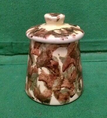 Dragon Pottery Rhayader Mustard Pot