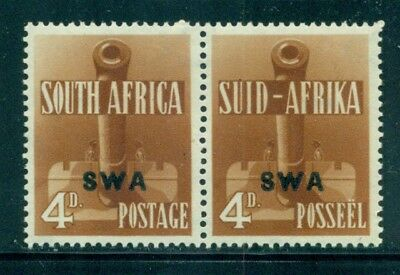 SOUTH WEST AFRICA 140 SG118 MH 1941-43 4p WWII Artillery pair Cat$8