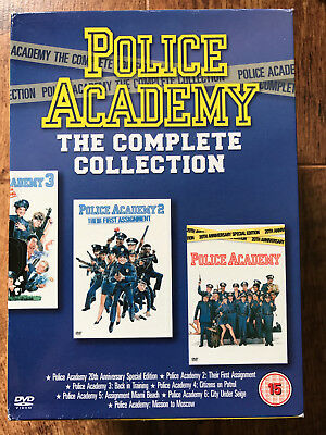 Police Academy 1-7 - The Complete Collection ~ Comedy Classics UK DVD Box Set