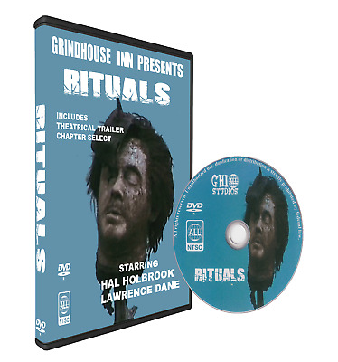 RITUALS 1977 - Hal Holbrook, Lawrence Dane, Robin Gammell - UNCUT