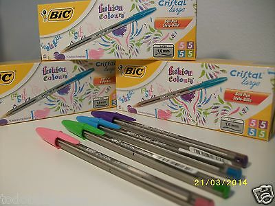 40 BOLIGRAFOS BIC serie Fashion 4 colores diferentes.Bic colors Chic.