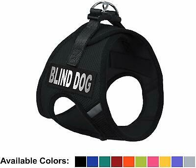 Blind Dog Nylon Mesh Easy Step-In Padded Soft Puppy Pet Dog Harness