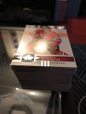 2017 / 2018 Upper Deck Team Canada Canadian Tire Exclusive Base set 1-100