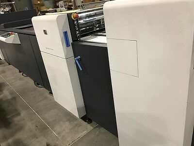 USED -- HP Indigo UV Coater