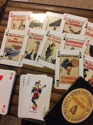 Guinness Extra Stout Poster Deck Playing Cards 1999
