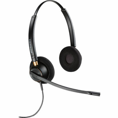 Plantronics Encorepro HW520 Over-the-head  Wideband Binaural NC Corded Headset