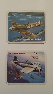 Cracker Jack WWII airplane cards
