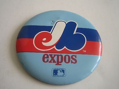 Vintage Mlb Montreal Expos 3.25 Inches Button/pinback