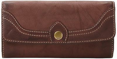 New in box! $168 Frye  Campus Large Leather Wallet - Walnut brown