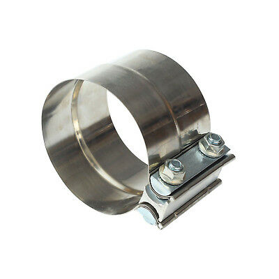 """10X 2.5/"""" 2 1//2/"""" Stainless Steel Lap Joint Band Clamp Lap Style Joint  T304"""