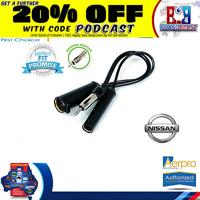 Aerpro Antenna Adapter To Suit Nissan Patrol Gu 1997 - 2008