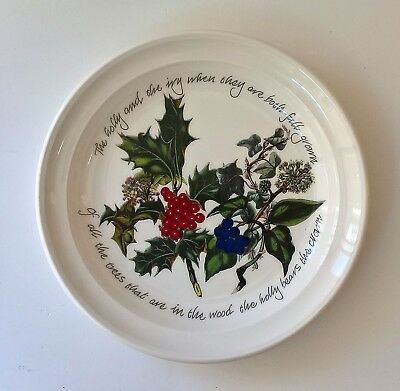 "Portmeirion The Holly And The Ivy  Tea Plate 6"" New & Unused"