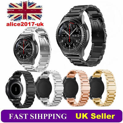 Stainless Steel Watchband Bracelet Strap For Samsung Gear S3 Frontier/Classic