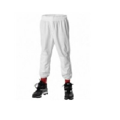 Alleson Athletic Youth Pull On Baseball Pants - White