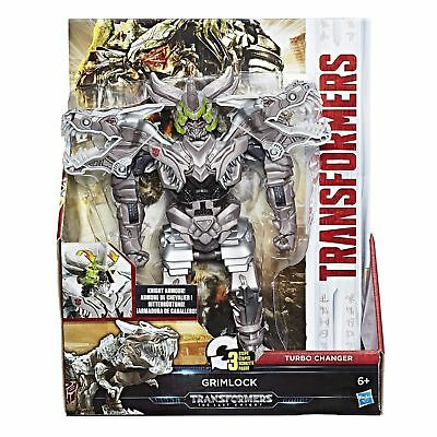 NEW Transformers The Last Knight Armour Turbo Changer Grimlock Dinosaur Trex