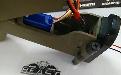 BEAST: SCAR V1 V2 100% TRUE POWER mAh 11.1v Lipo Battery GEL GUN BLASTER ++++FPS