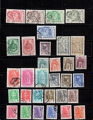 French Colonies Syrie - Selection Of Postally Used Stamps -  Lot ( Syr 572)
