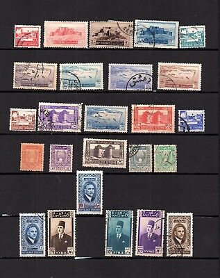 French Colonies Syrie - Selection Of Postally Used Stamps -  Lot ( Syr 571)