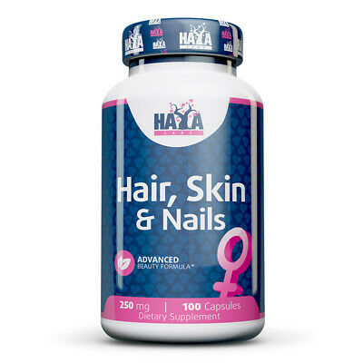 Haya Labs - Hair, Skin, and Nails 60 Caps - integratore capelli, pelle, unghie