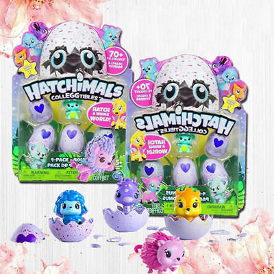 Hatchimals Colleggtibles Season One Mini Egg 4 Pack +Bonus Interactive Toy Gifts