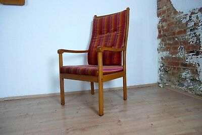 Easy arm chair sessel senator teak ole wanscher for poul for Hochlehner mit armlehne