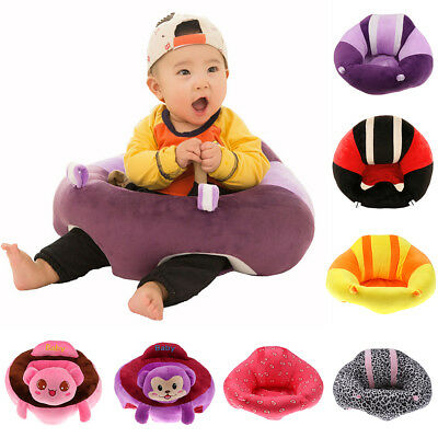 Toddler Baby Support Seat Sit Up Chair Cushion Sofa Soft Plush Pillow Toy