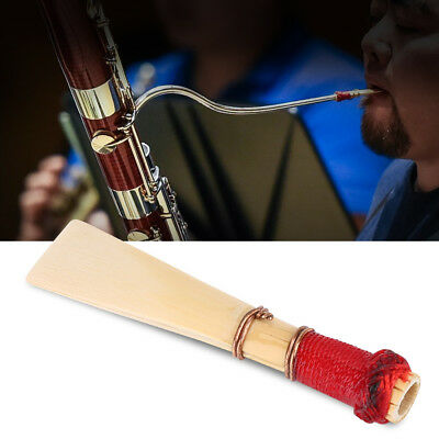 Set of 5Pcs High Quality Bassoon Reeds Hardness Medium Musical Instrument Parts