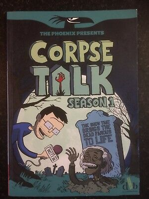 Corpse Talk: Season 1 - Adam Murphy - David Fickling Books Graphic Novel 2014