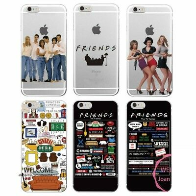 Fundas FRIENDS AMIGOS iPhone 5 5C 5S SE 6 6S 7 Plus / Samsung A3 A5 J5 S5 S6 S7
