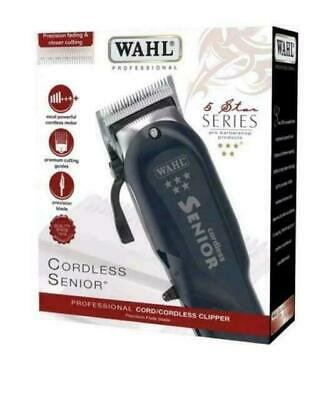 Wahl Professional 5 Star Senior Cordless Hair Clipper *uk*
