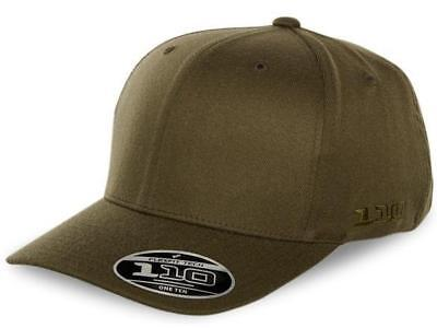 New Flexfit Twiggy 110 Snapback - Olive