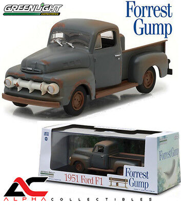 Greenlight 86514 1:43 1951 Ford F1 Forrest Gump (1994) Movie Truck