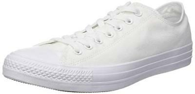 Converse Chuck Taylor All Star Sneakers Unisex Adulto Bianco 46.5 EU O7W