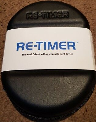 Re-Timer Light Therapy Glasses | Sleep Better With Extra Nose Piece