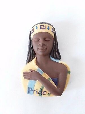Sarah's Attic Glimpse of Her Soul Pride Magnet #1354 African American Woman