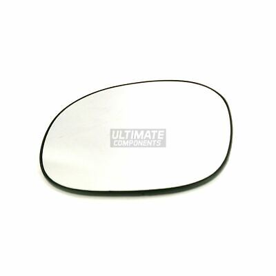 Mazda 5 Mk2 MPV 9//2010-/> Heated Convex Wing Mirror Glass Passenger Side N//S